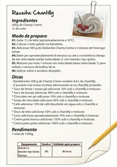 Receita Chantilly