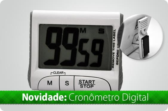 Produto 05 - Cronômetro Digital