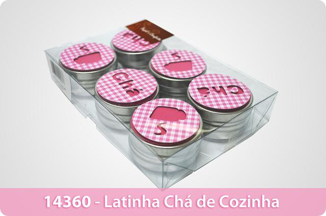 14360 - Latinha Chá de Cozinha