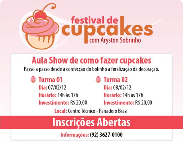 Curso - Festival de Cupcakes (Aryston)